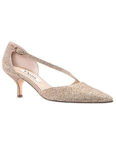 Nina Bridal Tirisa_Beige Baby Glitter Black, Blue, Silver, Gray Shoe