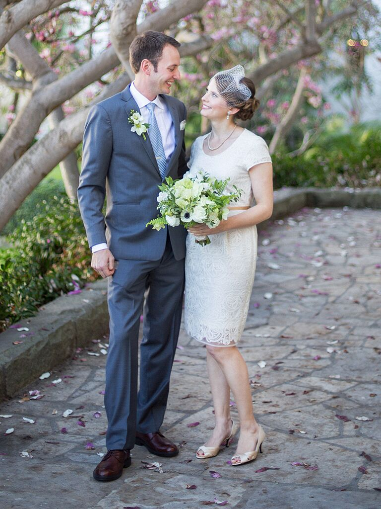 Elopment Wedding Dress From Nordstrom With A Vintage Vibe