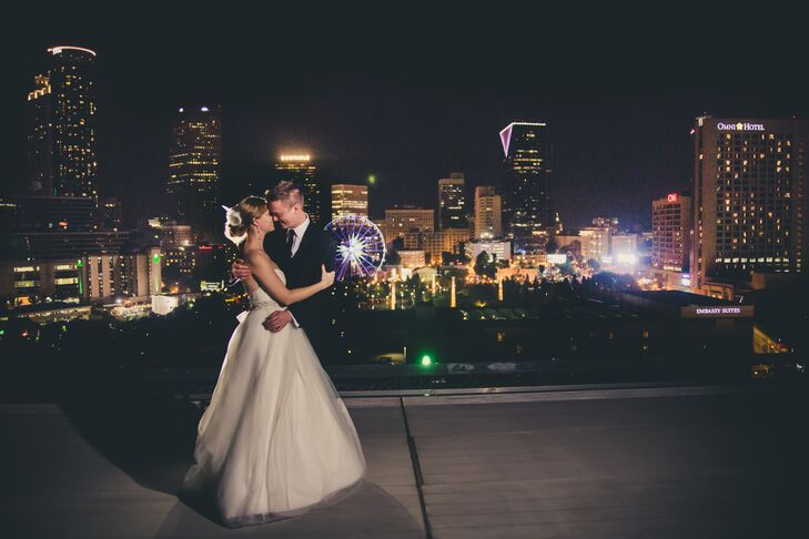 Atlanta Skyline Backdrop at Ventanas