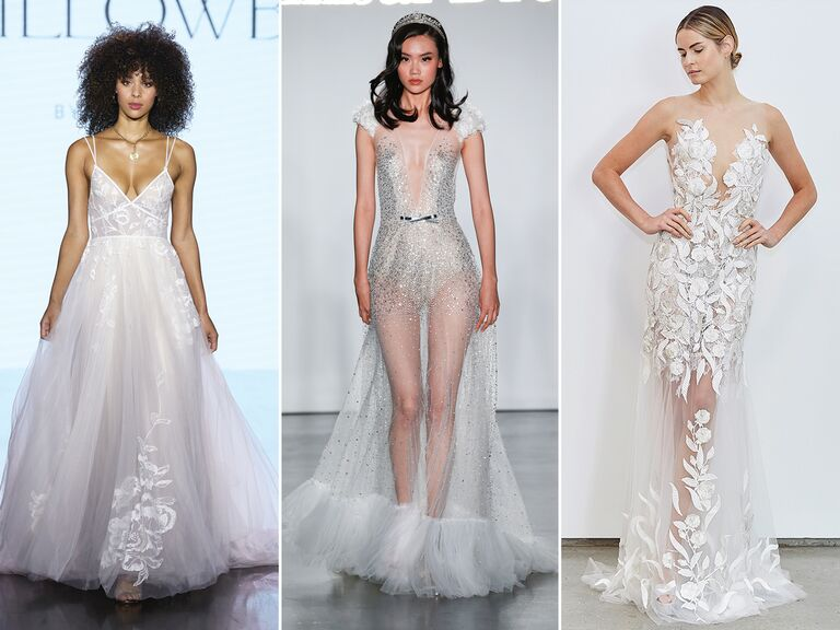 Lightweight wedding dresses