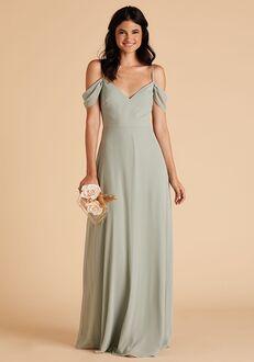 Birdy Grey Devin Convertible Dress in Sage Sweetheart Bridesmaid Dress