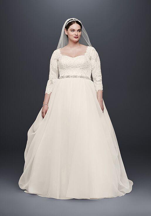 6a6a1151a81f Oleg Cassini at David's Bridal Oleg Cassini Style 8CWG731 Ball Gown Wedding  Dress
