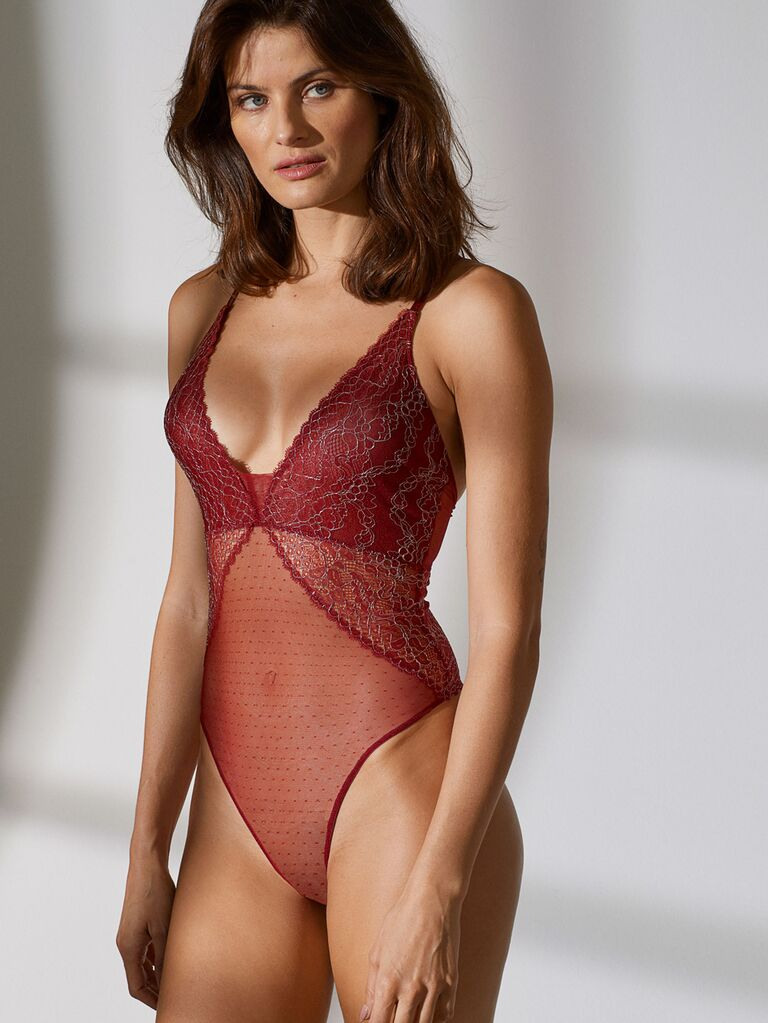 e83227250 27 Bridal Lingerie Looks Perfect for Your Wedding Night