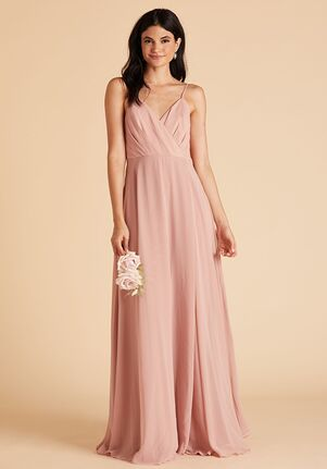 Birdy Grey Kaia Dress in Rose Quartz V-Neck Bridesmaid Dress
