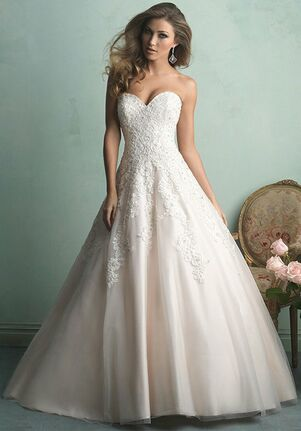 Allure Lace Ball Gown Dress