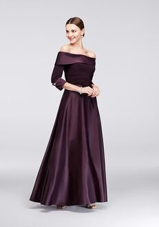 David's Bridal Mother of the Bride JHDM3159 Purple Mother Of The Bride Dress
