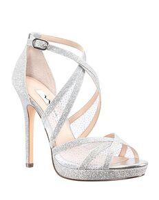 Nina Bridal Fenna_Silver Silver Shoe
