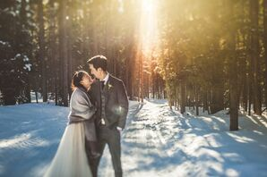 Tuyen and Simon in Breckenridge, Colorado