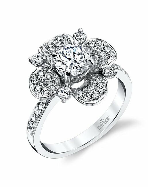 Parade Designs R3686 from the Lyria Bridal Collection Wedding Rings photo