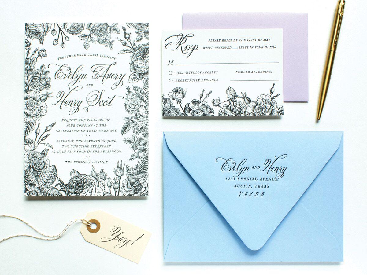 Invitations paper in dallas tx the knot stopboris Images
