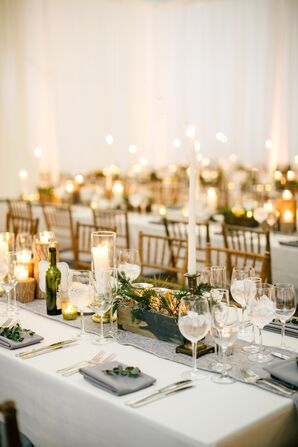 Candlelit Reception Catered by Garces Trading Company
