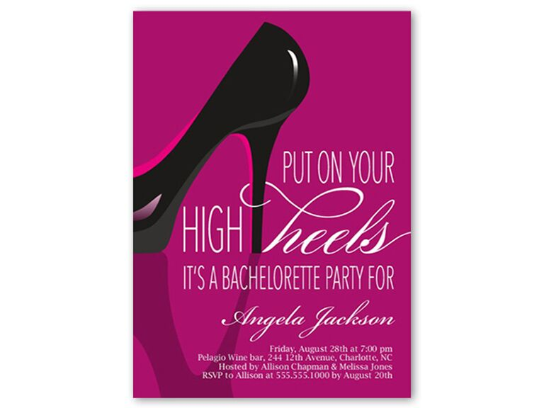 31 Best Bachelorette Party Invitations