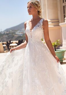 Moonlight Couture H1376 A-Line Wedding Dress