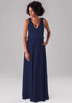 Kennedy Blue Molly V-Neck Bridesmaid Dress