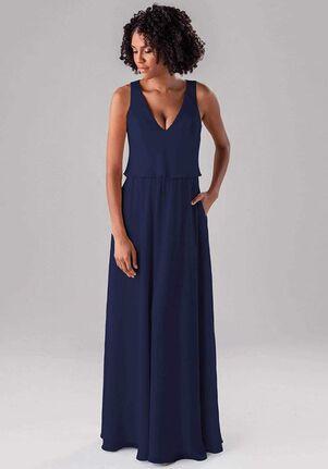Kennedy Blue Molly V-Neck Bridesmaid Dress