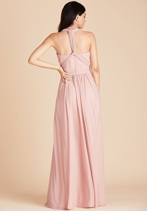 Birdy Grey Chicky Convertible Dress in Rose Quartz Sweetheart Bridesmaid Dress