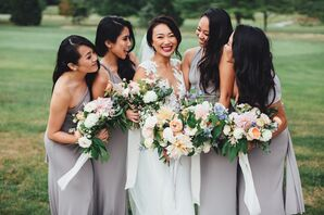 Lavender Gray Lulu's Bridesmaid Dresses