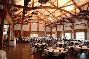 Rustic Lodge at Ironwoods Reception