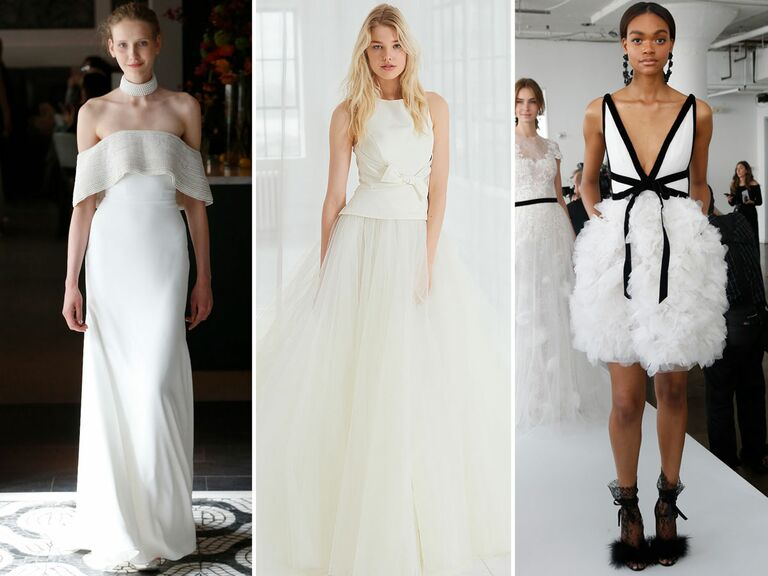 Spring 2018 Bridal Fashion Week Wedding Dress Trends