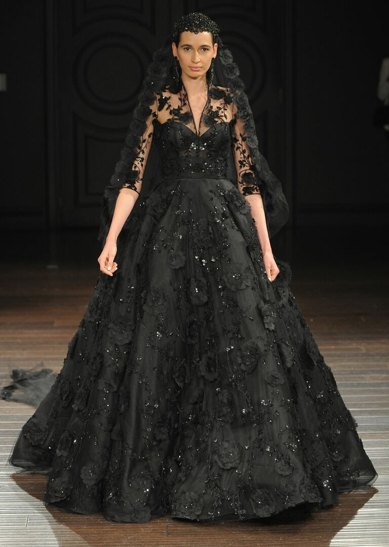 Naeem Khan Spring 2017 Collection: Bridal Fashion Week Photos