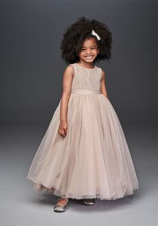 David's Bridal Flower Girl David's Bridal Style WG1400 Flower Girl Dress