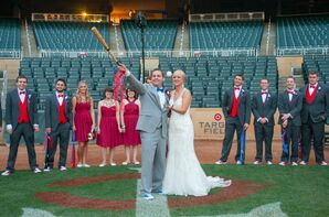 Home Run Couple Shot