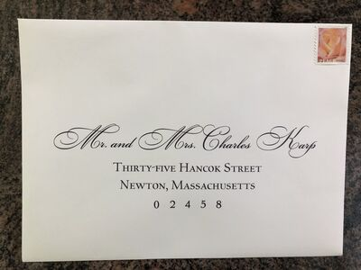Always Inviting  - calligraphy for all  occasions