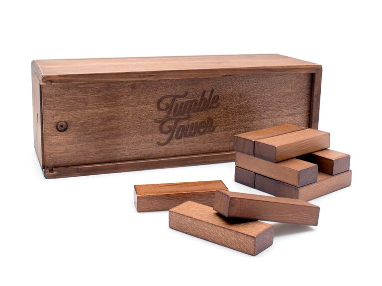 5 year anniversary gift ideas luckies of london tumble tower game wood anniversary gifts solutioingenieria Choice Image