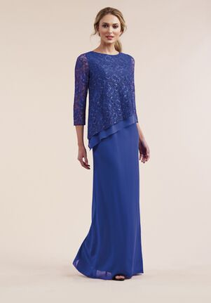 Jasmine Black Label Mother of the Bride M210055 Blue Mother Of The Bride Dress