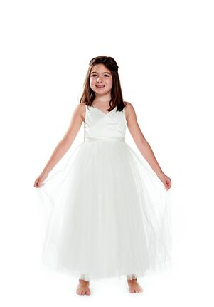 Bari Jay Flower Girls F0220 Ivory Flower Girl Dress