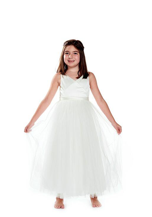 Bari Jay Flower Girls F0220 Ivory Flower Girl Dress