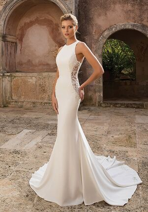 Justin Alexander 88040 Sheath Wedding Dress