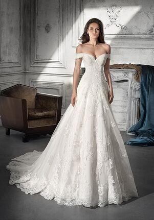 Demetrios 738 A-Line Wedding Dress