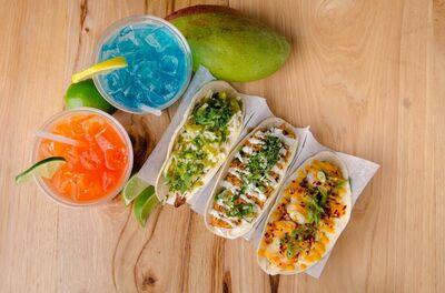 Con Quesos Fusion Tacos