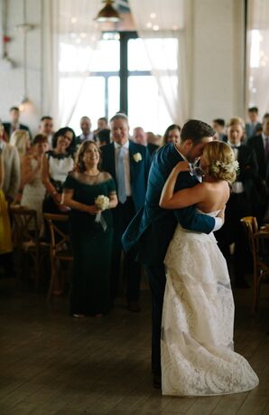 Classic Bride and Groom First Dance Indoors