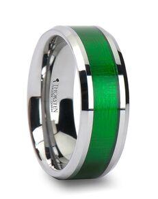 Mens Tungsten Wedding Bands W760-TGVI Tungsten Wedding Ring
