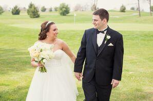 Formal Purple Wedding in Gilbertsville, Pennsylvania