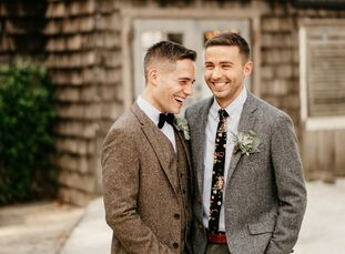 """Justin Beebe (28 and a media planner) and Michael """"Mikey"""" Kopyna (28 and a graphic designer) are a detail-oriented duo—so much so that the pair waited"""