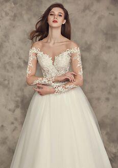 Calla Blanche 16252 Crystal Ball Gown Wedding Dress