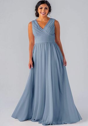 Kennedy Blue Brittany V-Neck Bridesmaid Dress