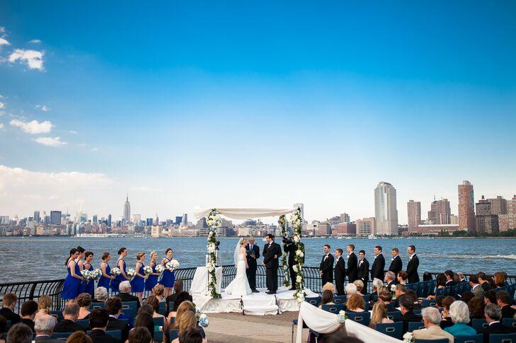 Outdoor Ceremony Overlooking NYC