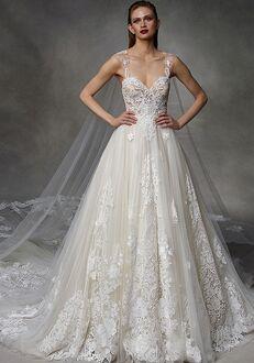 Badgley Mischka Bride Debbie A-Line Wedding Dress