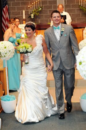 Bride and Groom Church Recessional