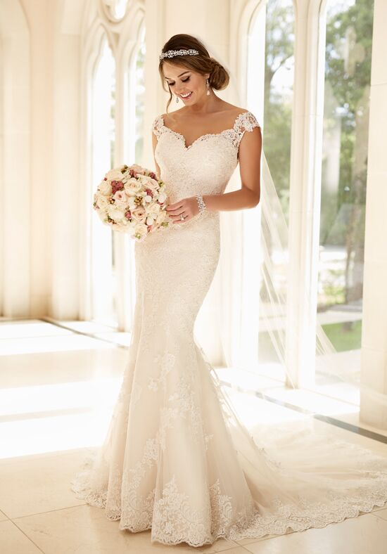 Stella york 6249 wedding dress the knot for Wedding registry the knot