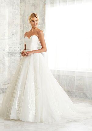 Adrianna Papell Platinum 31133 Ball Gown Wedding Dress