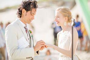 Aubrey and Andrew Beach Wedding Ceremony Vows