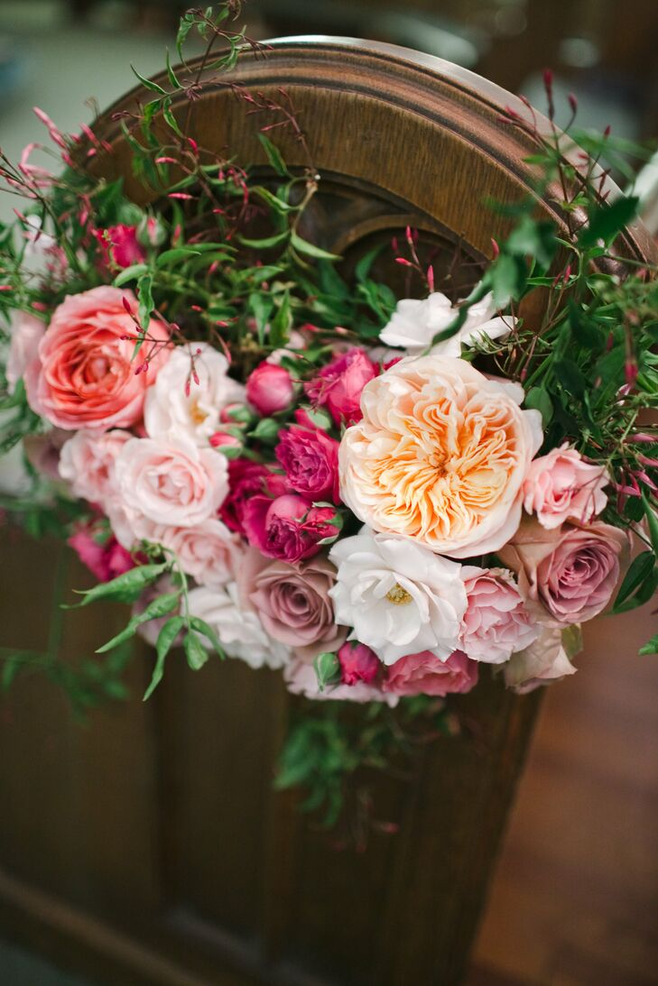 Pink and Blush Floral Decor