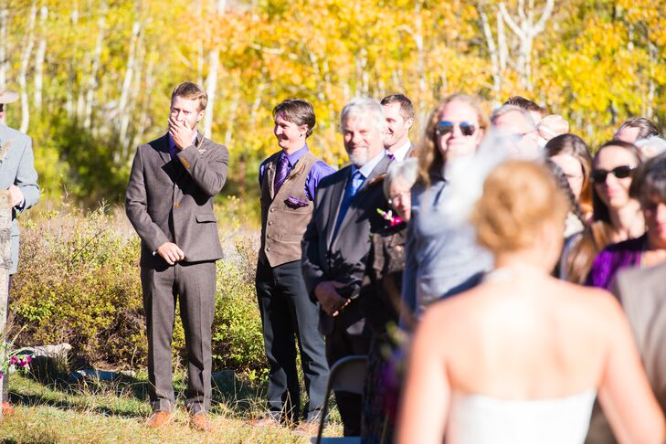 Romantic First-Look Processional