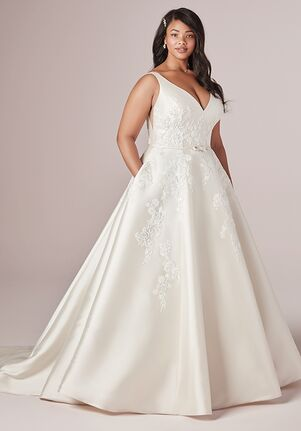 Rebecca Ingram VALERIE LYNETTE A-Line Wedding Dress