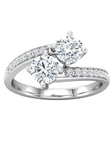 ever&ever Unique Princess, Asscher, Cushion, Emerald, Round, Oval Cut Engagement Ring